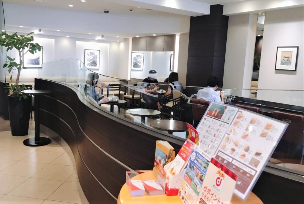 「エクセルシオールカフェ 吉祥寺サンロード店」1階の様子