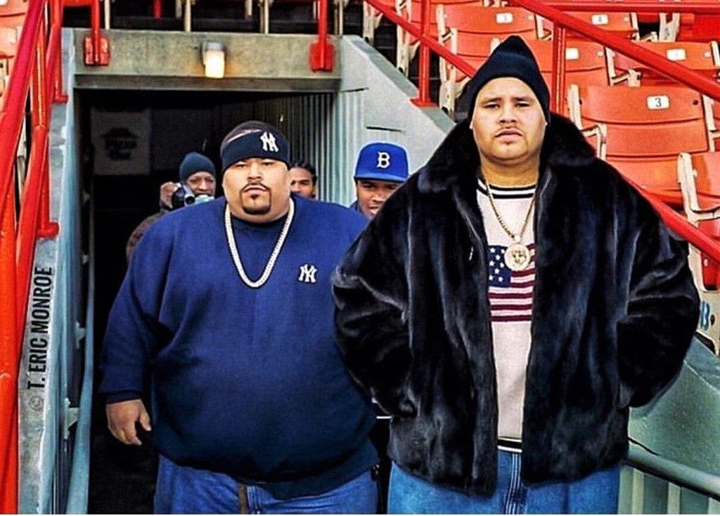 Big Pun(左)とFat Joe(右)