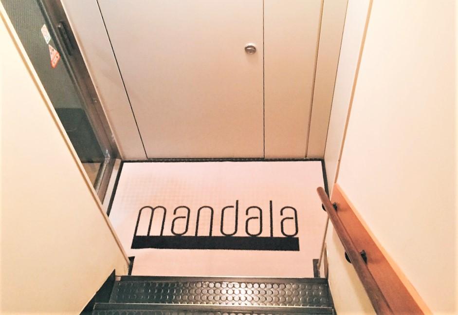 mandala店舗前