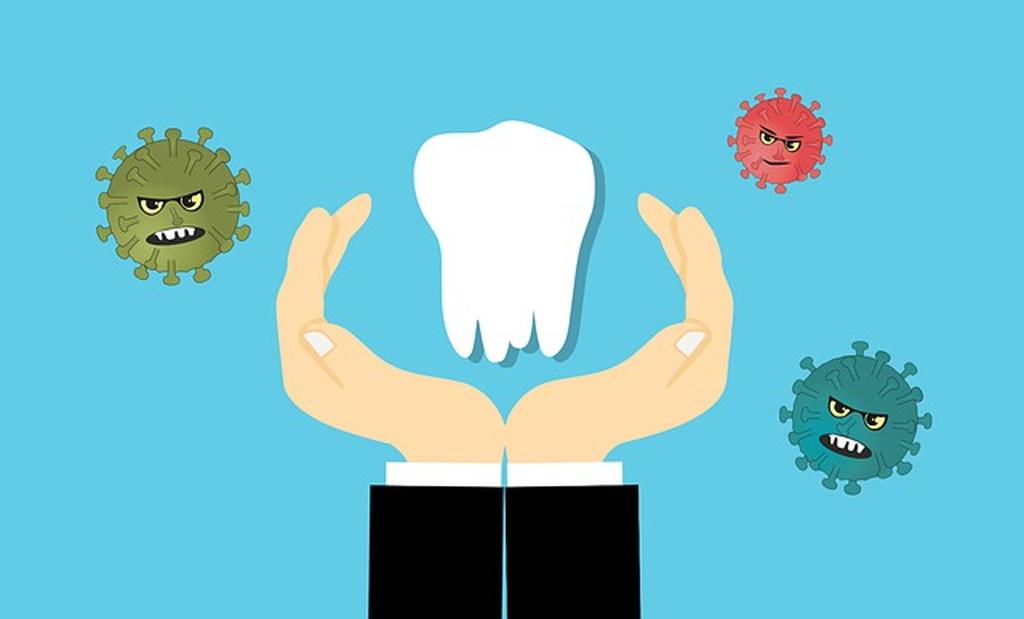 リステリンが口内の汚れ・細菌・ウイルスを浄化・殺菌するため