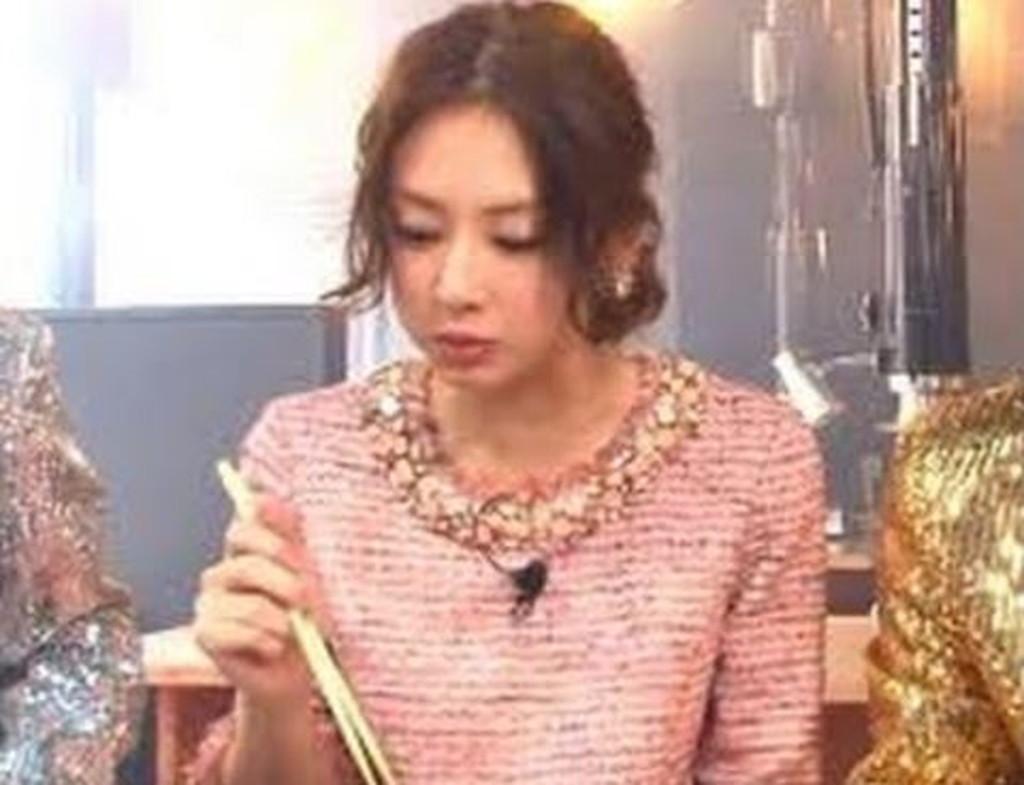 北川景子の箸の持ち方