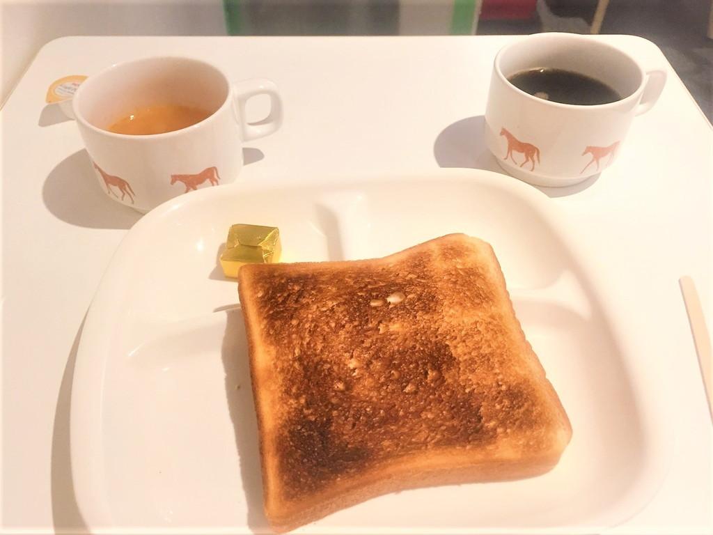 サクラカフェの朝食