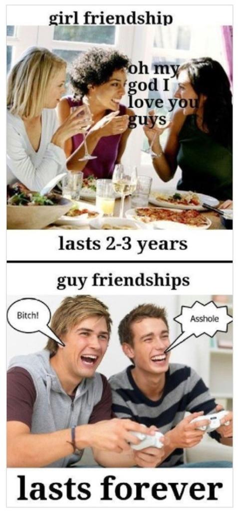 男女の友情の違い